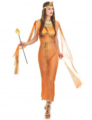 Costume arancione principessa egiziana donna