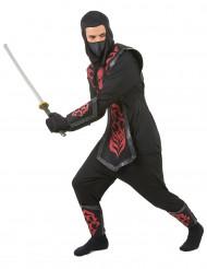 Costume ninja uomo con teschio