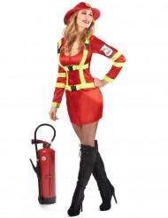 Costume pompiere donna