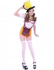 Costume da festa della birra bavarese per donna