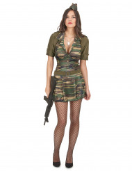 Costume soldatessa adulto
