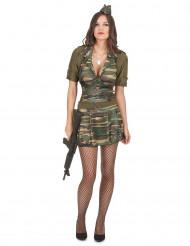 Costume soldatessa adulto