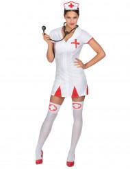 Costume da infermiera con camice sexy donna