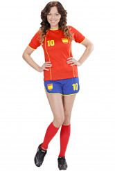 Costume calcio Spagna donna