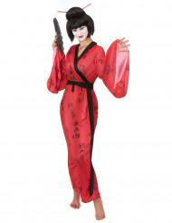 Costume kimono da geisha per donna