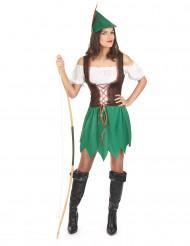 Costume da brigante dei boschi da donna