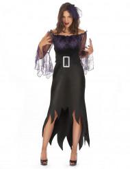 Costume donna ragno viola