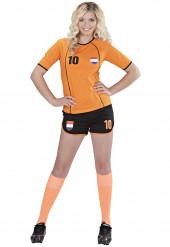 Costume calciatore Olandese Donna