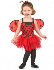 Costume da coccinella con tutu per bambina