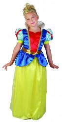 Costume da principessa della neve per bambina
