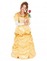 Costume da bella principessa in giallo per bambina