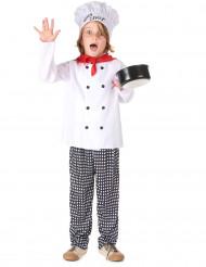 Costume da capo cuoco per bambino