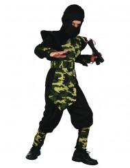 Costume da ninja militare bambino