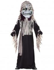Costume scheletro terrificante bambino