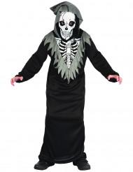 Costume scheletro della morte bambino