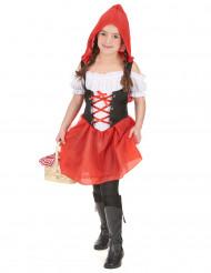 Costume damina dal cappuccio rosso bambina
