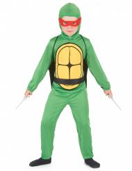 Costume tartaruga guerriero bambino