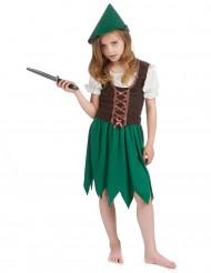 Costume da bambina della foresta