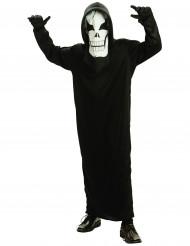 Costume scheletro nero per bambino