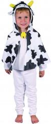 Costume mantello da mucca per bambino