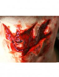 Ferita grave alla gola trucco Halloween - Premium