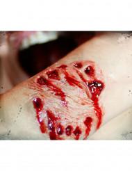Finta ferita grande morso trucco Halloween - Premium