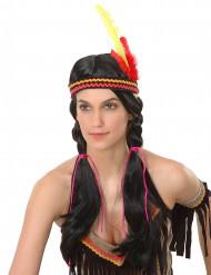 Parrucca da indiana Sioux donna
