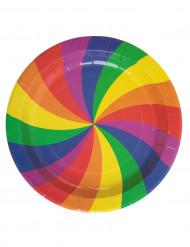 10 piatti arcobaleno