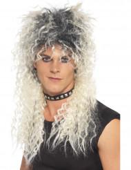 Parrucca da adulto bionda in stile punk