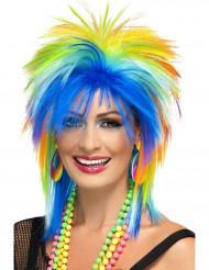 Parrucca multicolore anni