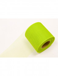 Rotolo di tulle verde anice