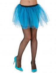 Tutu blu turchese donna