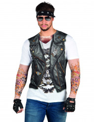 T-shirt motard adulto