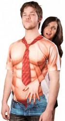 T-Shirt torso nudo sexy uomo