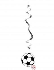 6 decorazioni da appendere Calcio
