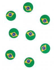 150 coriandoli da tavola bandiera Brasile