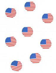 150 coriandoli da tavola bandiera USA