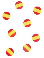 150 coriandoli da tavola bandiera Spagna