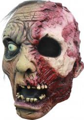 Maschera 3/4 zombie bruciato uomo