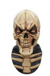 Maschera scheletro spaventoso