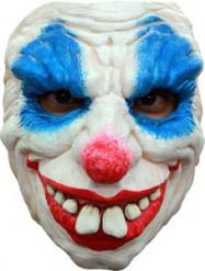 Maschera clown diabolica uomo