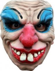 Maschera clown terrificante adulto
