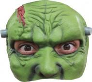 Mezza maschera mostro verde uomo