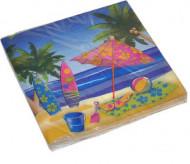 16 tovaglioli di carta Hawaii