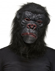Maschera gorilla nera adulto