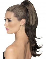 Extension capelli castani a boccoli