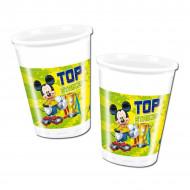 8 bicchieri di plastica Mickey Foot™
