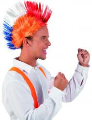 Parrucca punk Paesi Bassi adulto