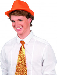 Borsalino arancione adulto