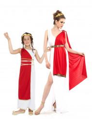 Costume antiche romane coppia: madre e figlia